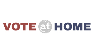 Vote At Home logo